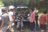 Dua pengendara motor beserta penumpangnya luka bakar serius usai tabrakan hebat di Pesisir Selatan