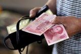 Yuan melemah 67 basis poin terhadap dolar AS