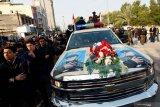 Putra Ali al-Sistani sambut prosesi pemakaman  Soleimani di Najaf