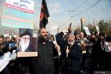 Iran gempur pangkalan udara Irak usai pemakaman Soleimani