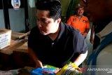 Menteri BUMN terus berkolaborasi dengan BNPB agar bantuan banjir tepat sasaran