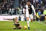 Ronaldo cetak trigol, saat Juventus gilas Cagliari 4-0