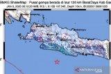Gempa Garut dirasakan  warga hingga Sukabumi