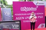 Penjualan Bright Gas naik