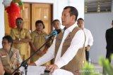 Kepala BNPB salurkan bantuan bencana di Sangihe