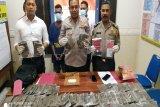 Polisi Jayapura Kota tangkap kurir bawa ganja senilai Rp110 juta