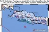 Garut diguncang gempa magnitudo 5,1, getarannyta terasa hingga Bandung