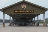 Empat jet tempur F-16 patroli di Natuna