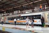 KAI Purwokerto layani 579.794 penumpang selama Nataru