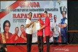 Pasangan Puguh hadiri rapat akbar sukarelawan Garuda di Solo