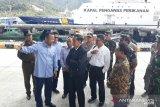 Presiden Kunjungi Sentra Perikanan Selat Lampa