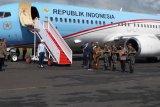 Presiden Jokowi beserta rombongan tiba di Natuna