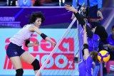 Timnas bola voli putri Indonesia takluk atas Korsel