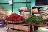 Harga cabai di tingkat pedagang pasar tradisional Yogyakarta merangkak naik
