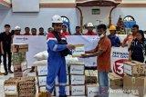 Pertamina bantu korban banjir  di Sangihe