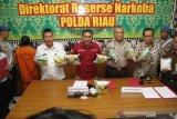 Bawa 10 kilo sabu, bandar narkoba Riau tewas ditembak