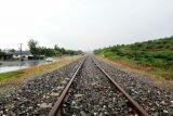 Maling bantalan kereta api ditangkap