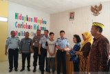 Pemprov Lampung serahkan buku ke LPKA Klas II