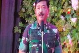 Panglima TNI Hadi Tjahjanto  ingatkan jaga persatuan di perayaan Natal TNI