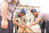 Polda Lampung gelar aksi tanam pohon untuk dukung penghijauan