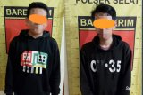 Dua pemuda Kapuas tersangka kurir narkoba dibekuk polisi