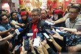 Hasto Kristiyanto membantah KPK segel ruang kerjanya