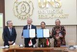 Tingkatkan SDM, UNS jajaki kerja sama dengan Universitas Jepang