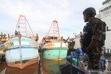Dirjen KKP berhasil menangkap tiga kapal ikan Vietnam di Laut Natuna Utara