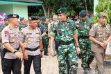 Polda Sumsel tingkatkan kekompakan dengan TNI  jaga kamtibmas