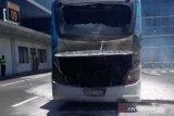 Bus angkutan penumpang Bandara Ngurah Rai terbakar