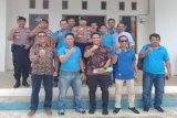 Kapolres Barito Utara kunjungi kantor PWI