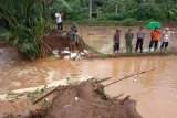 Dua desa di Pati tergenang banjir akibat tanggul sungai jebol