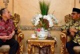 Gubernur Sulsel sambut Mayjen TNI Andi Sumangerukka sebagai Pangdam XIV