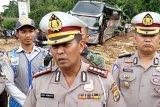 Polisi lakukan rekayasa lalu lintas di lokasi banjir Tanggamus