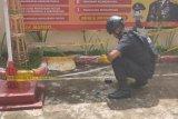 Pelajar SMP di Makassar temukan granat nanas