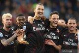 Milan lolos ke perempatfinal Piala Italia tanpa Ibrahimovic