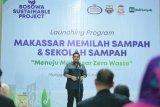 Pj Wali Kota Makassar luncurkan sekolah sampah di Kecamatan Manggala