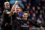 Gol Ibrahimovic bawa Milan akhiri puasa kemenangan
