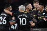 Man City lumat Aston Villa demi naik ke posisi kedua