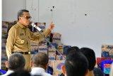 Gubernur serahkan bantuan dua ton beras bagi korban banjir di Barru