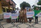 BPJamsostek NTB menyerahkan santunan kepada ahli waris pekerja
