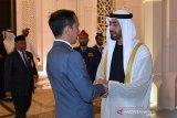 Putra Mahkota ingin Jokowi anggap Uni Emirat Arab sebagai rumah kedua
