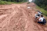 Jalan Mesuji rusak parah