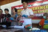 Polda Sulut ungkap kasus narkotika gunakan paket makanan