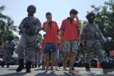 Polda NTB mengungkap pencurian kendaraan milik anggota TNI dan Polri