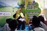 Pojok baca Antara secara resmi digunakan di SDS Pantai Indah