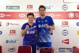 Owi/Apriyani akui tak pasang target khusus di Indonesia Masters