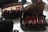 Polsek KPL Jayapura amankan puluhan botol minuman beralkohol