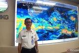 BMKG ingatkan potensi hujan intensitas lebat di barat Sumatera