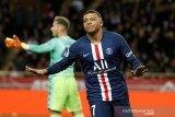 Kylian Mbappe jebol gawang Monaco dua kali, PSG menang 4-1